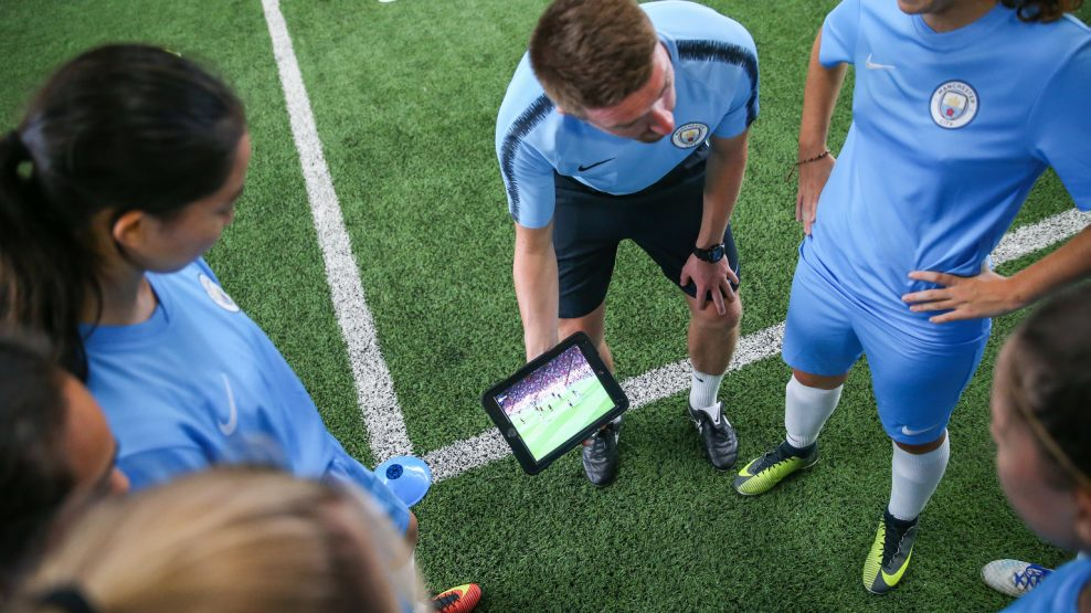 General images during the City Football Language School Program on July 18th at the Manchester City Football Academy