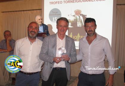 Panchina di Marca | Ad Attilio Tesser il Trofeo TorneiGiovanili.com