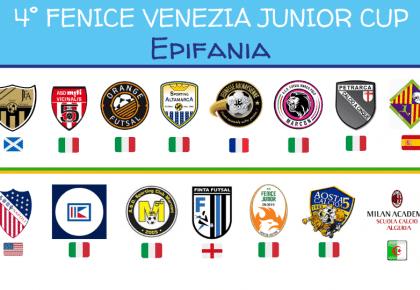 Fenice Venezia Junior Cup si conferma super internazionale!
